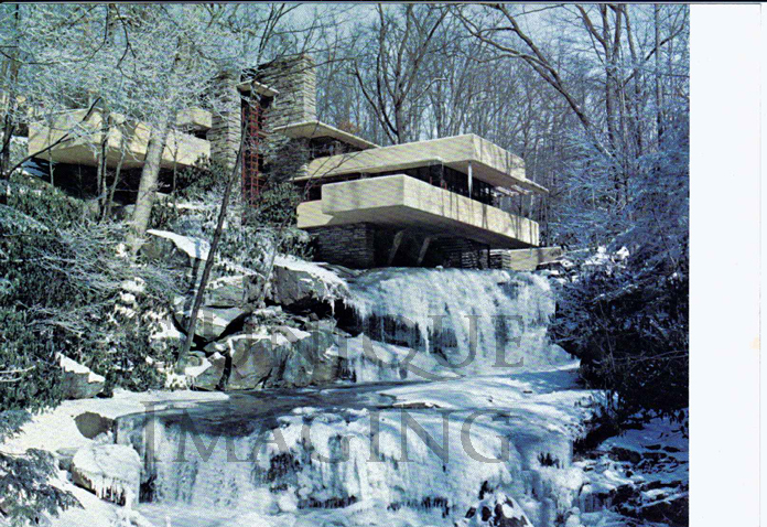 Pics For > Fallingwater House Winter